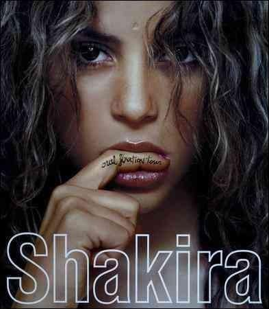 Shakira Oral Fixation Tour
