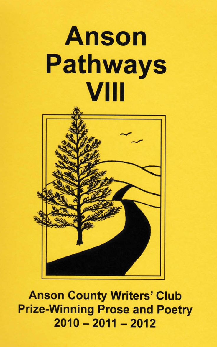 The club publishes an anthology of its winning stories, essay and poems every 3 years. Anson Pathways IX will be published in 2016.