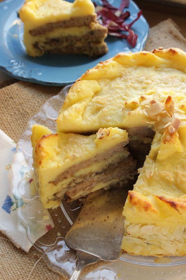Torta di patate e carne