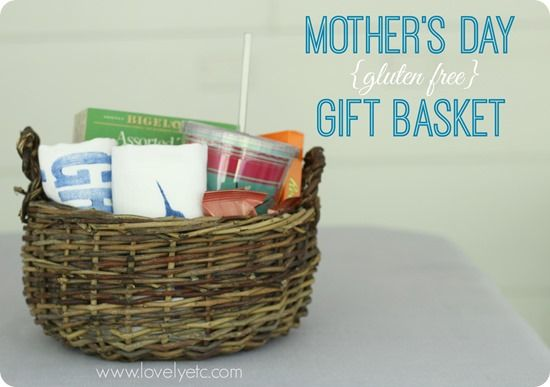 Gluten free gift basket for Mother's Day