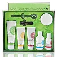 Aloe-Fleur-de-Jouvence-Collection - my fave set!! It also includes our amazing face mask :)