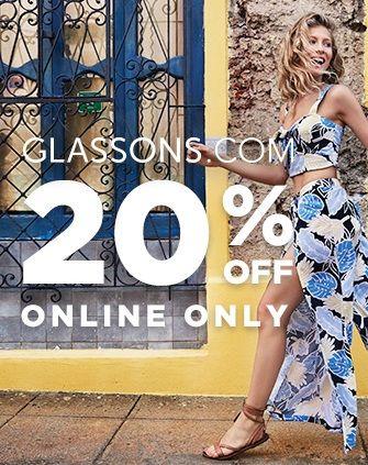 Bargain - 20% OFF - Click Monday @ Glassons