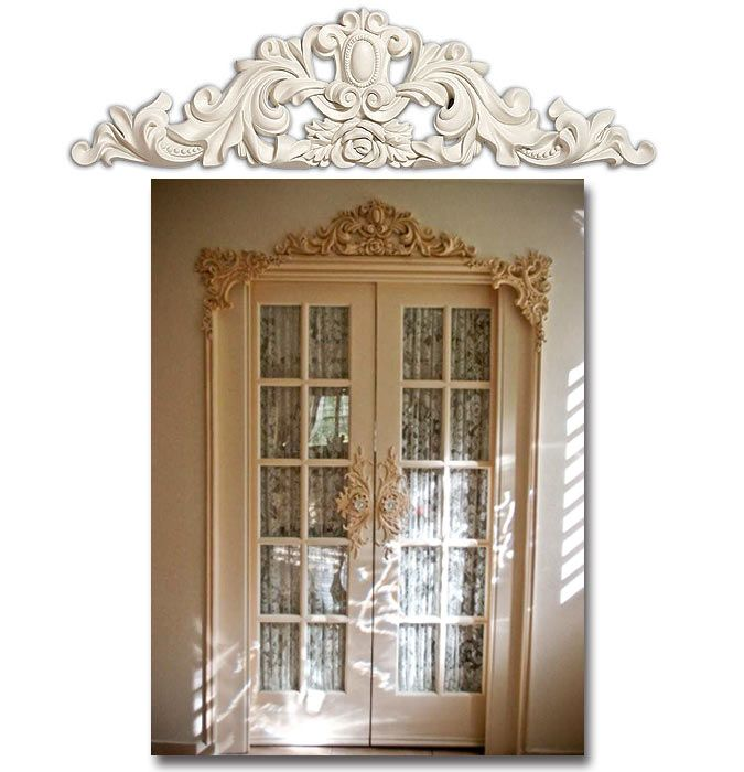 25 best ideas about door molding on pinterest door for Over door decorative molding