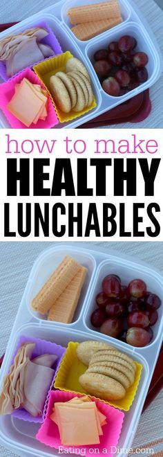 How to make Healthy Lunchables that the kids will love. The Homemade lunchables are one of my favorite easy lunch ideas for kids.