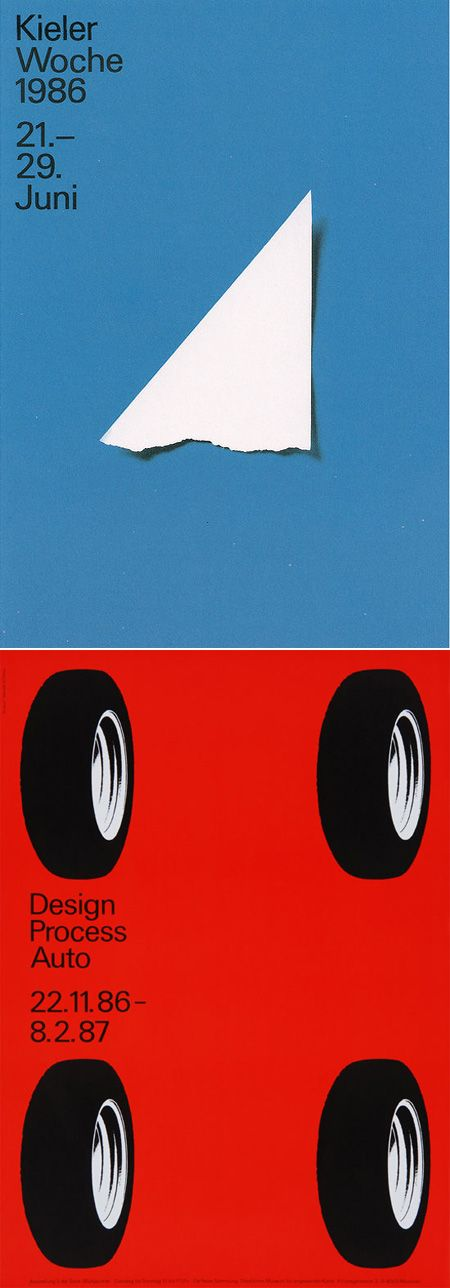 Pierre Mendell (1929 — 2008) was a graphic designer that studied design under Armin Hofmann at the Schule für Gestaltung in Basel and later went on to form the Mendell & Oberer studioin 1961 in Munich. Mendell is best known for his work identity work Vitra and Siemens.
