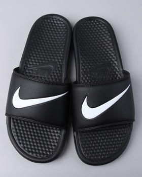 Nike Slides the only ones i would wear, the only thing i wear from nike is there slides n sneakers