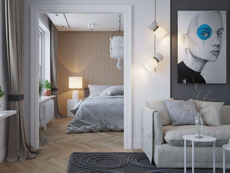 25 beautiful examples of bedroom accent walls that use slats to look awesome art pinterest bedroom accent walls bedrooms and walls
