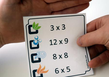 Some times tablegame's are fun… this one's different – it's exciting! A maths game is a fantastic way to avoid allthe tedium of all thosetimes tables drills… and this new game has proven very, very popular. It's a great 'calculation rich' activity, but with an extra layer of strategy. The download offers a set of …