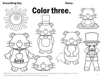 Free worksheets library download and print worksheets free on groundhog day crafts worksheets and printable books ibookread Download