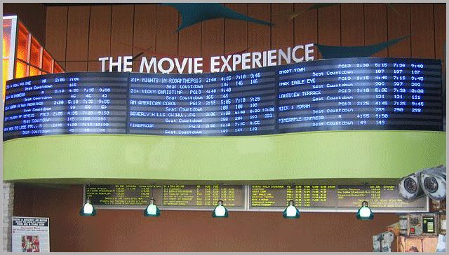 Data Display can offer you a complete Digital Signage solution for your theater.
