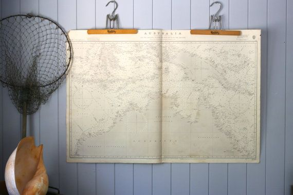 Maritime Nautical Chart Australia Top End Map by FoundByHer