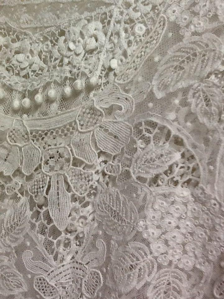 Lace details!