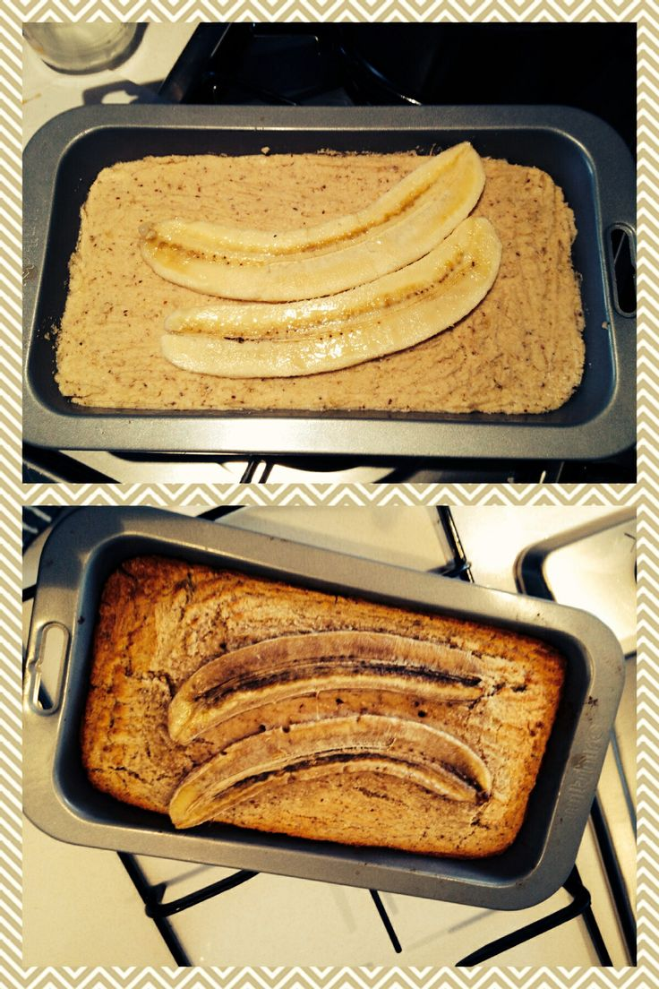 Sugar free, gluten free banana bread (Lola Berry 20/20 diet) 6 super ripe bananas, mashed 2 organic eggs 1/4 cup melted coconut oil 1/2 cup roughly chopped dates (medjool) 1/2 seeds of fresh vanilla bean or vanilla powder Mix all together. add 1/3 cup raw cacao nibs 1 cup almond meal 1 cup quinoa flour 1/2 cup coconut flour 1/2 tsp baking powder 1/2 tsp baking soda 1/2 tsp cinnamon Pinch of salt 180 Degrees for 35-40 minutes moist or 45-50 minutes fully cooked