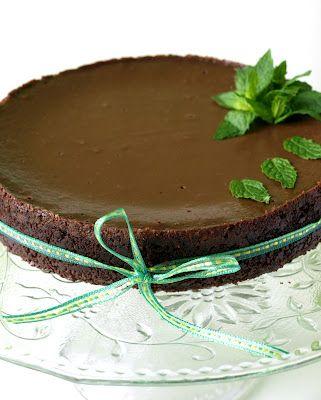 CHEZ LUCIE: Čokoládovo-mátový cheesecake