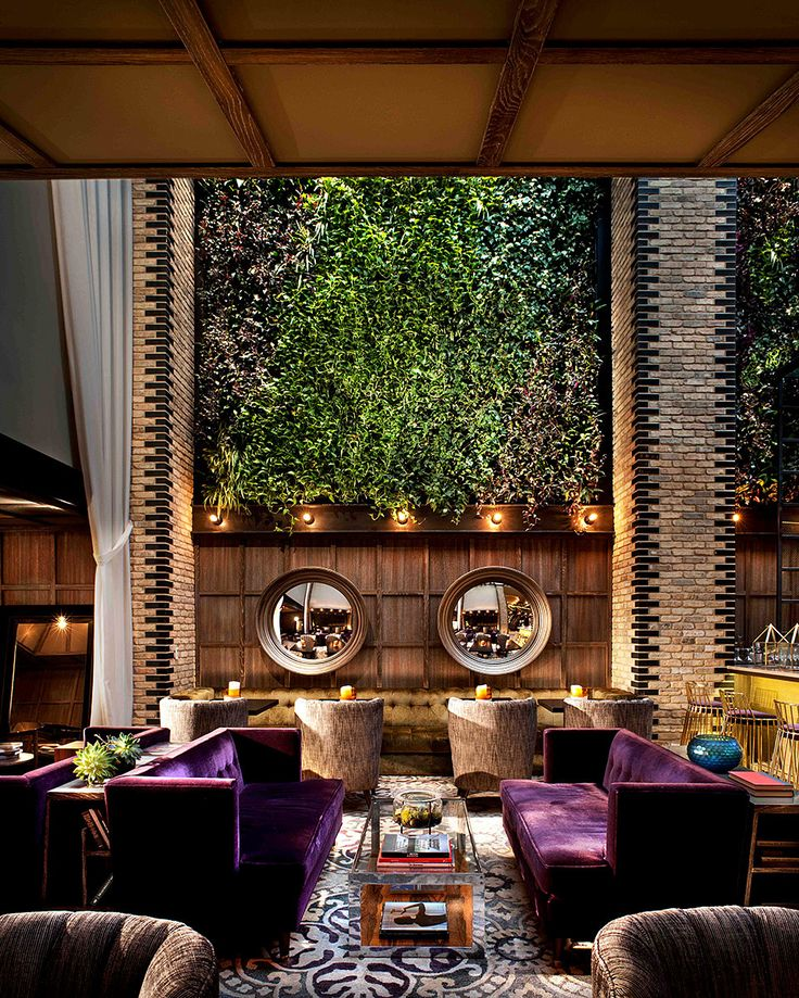 Hotel Thompson Chicago. Outdoor Restaurant DesignBar RestaurantInterior ...