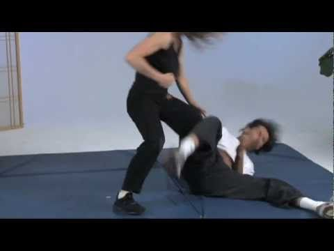 Kathy Long - Supprise Front Takedown For Self Defense