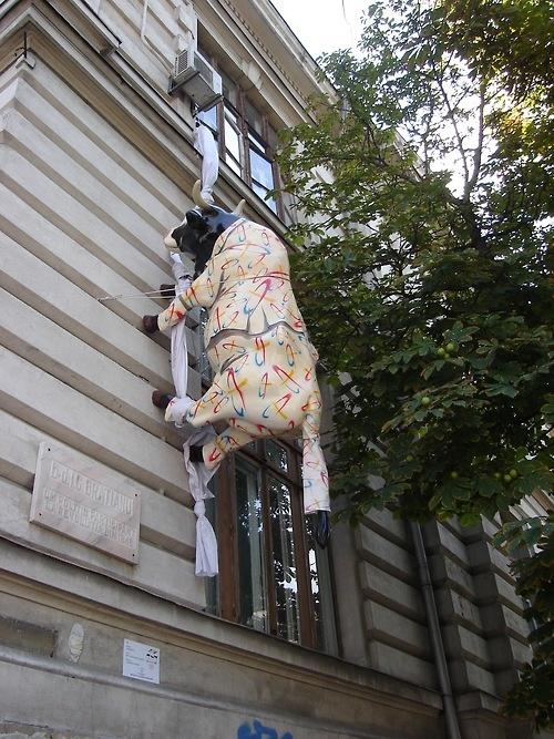 BUCHAREST  Cow Parade