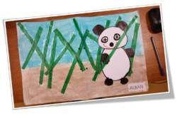 Arts plastiques - Couverture du cahier de vie en maternelle - n°1