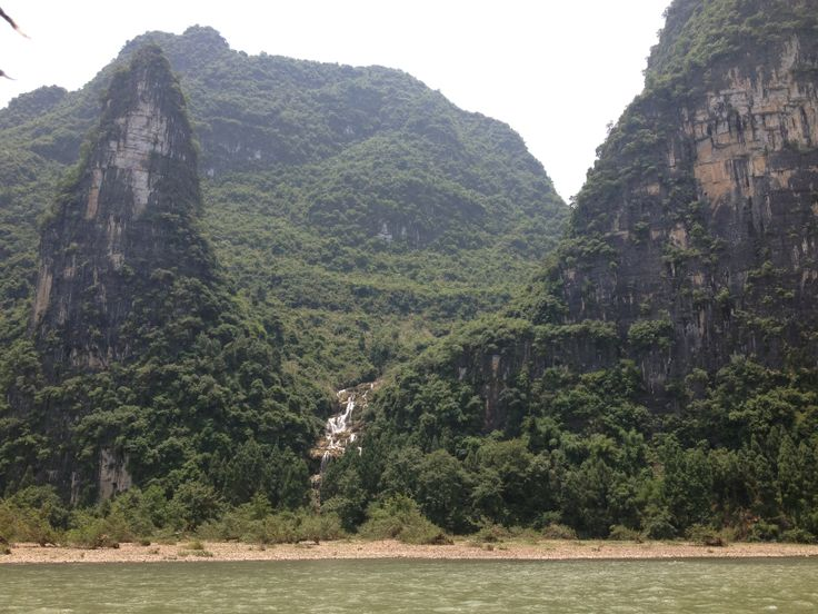 Guilin has mountains that are like nothing we have here in the US.