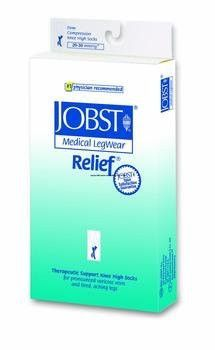 >Relief kn hi bge lg cls 20-30. Relief Therapeutic Knee High Support Stockings, 20 - 30 mmHg