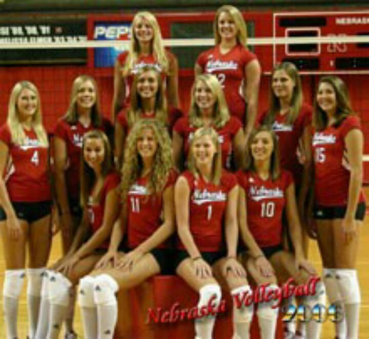 Fetish pictures of the nebraska volleyball team