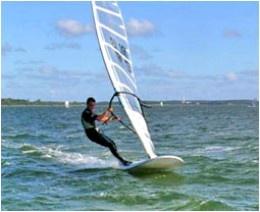 Windsurfing is a popular sport in Sri Lanka, especially along the Southern coastline near Bentota