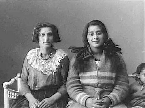 gypsies Sweden 1921