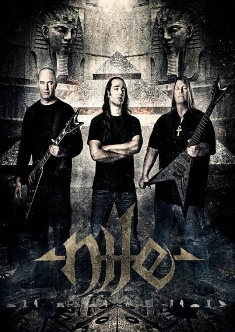 American technical death metal band widely know for their extreme brutality and speed with a theme dealing with Egyptian mythology.