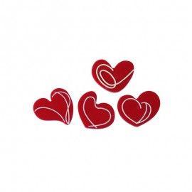 Molde para chocolate corações Martellato