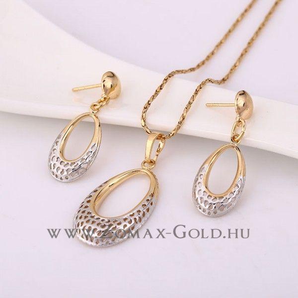 Petronella szett - Zomax Gold divatékszer www.zomax-gold.hu