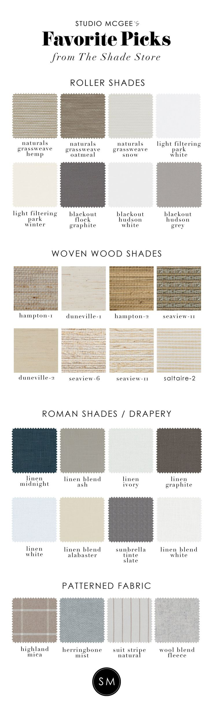 Our Favorite Picks from The Shade Store — STUDIO MCGEE