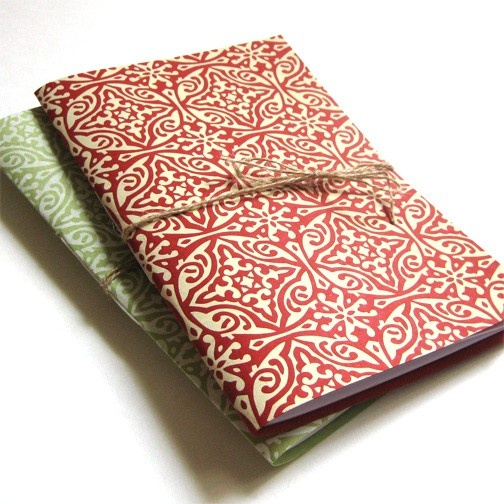 Cranberry Pasticcio Print Notebooks