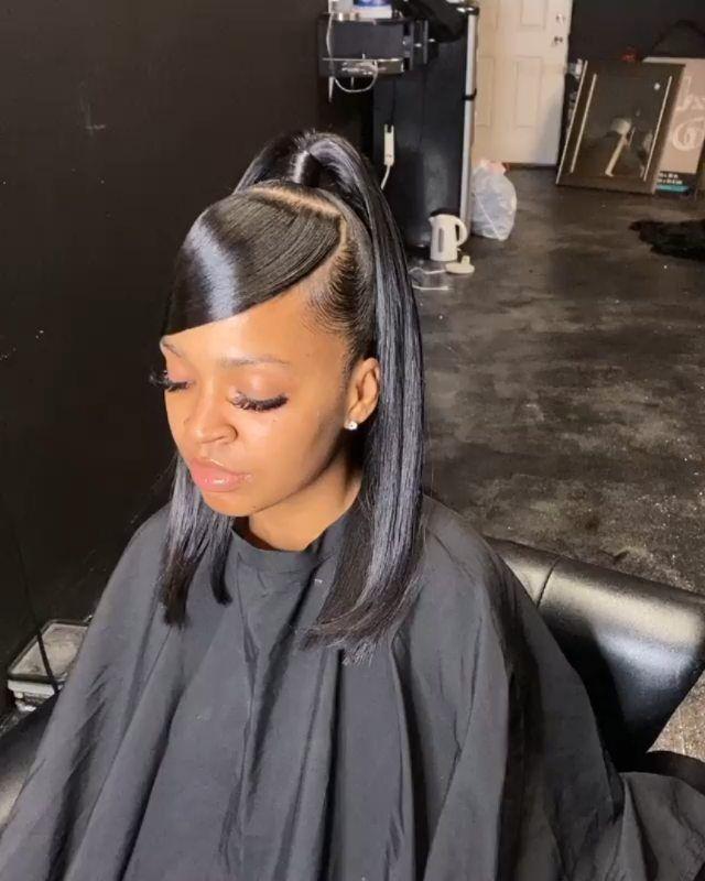 Bath And Body Short Weave Short Half Up Half Down Hair Weave Burgundy Hair W In 2020 Weave Hairstyles Hair Styles Braided Bun Hairstyles