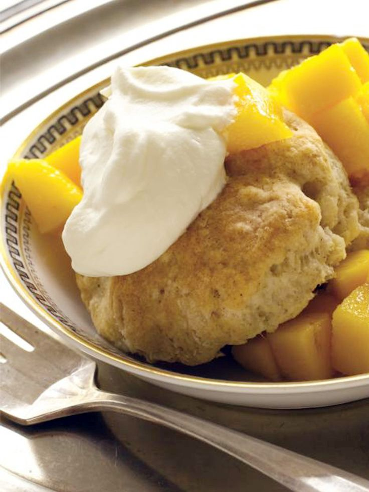 Make this quick and easy recipe for Mango Cardamom Shortcakes with Ginger Whipped Cream part of your Chanukah menu this year! http://www.joyofkosher.com/recipes/mango-cardamom-shortcakes-with-ginger-whipped-cream/