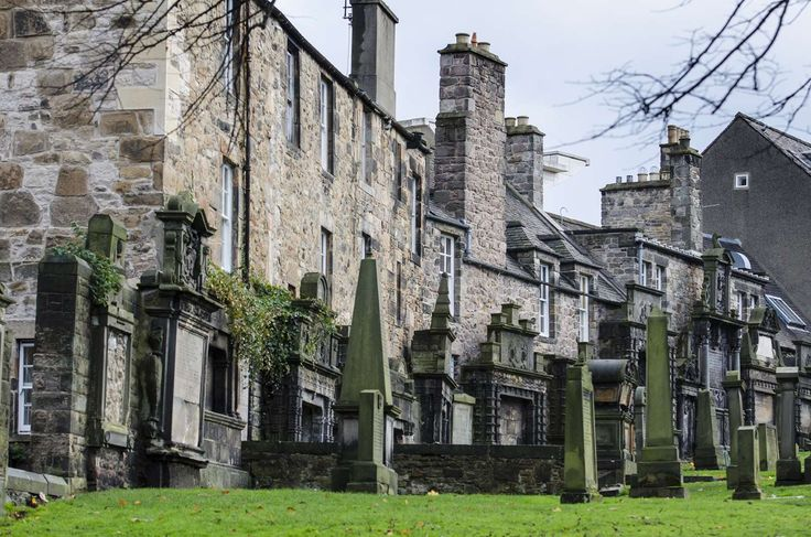 The Kirkyard is also the burial place of Greyfriars Bobby, the loyal dog who slept on his master's g... - John Lawson, Belhaven/John Lawson, Belhaven/Getty Images