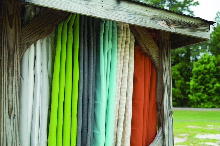 I love these curtains!  They are Perfect for some shade in your backyard.   The Outdoor Patio Store is the one place to shop for all of your beautiful Curtains.