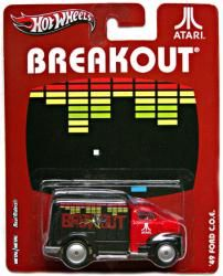 Hot Wheels Nostalgic Brands: Atari Breakout 49 Ford C.O.E. die cast Only $5.97