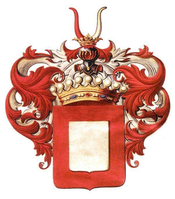 Wappen der Grafen von Droste zu Vischering / Coat of Arms of The Counts von Droste zu Vischering / Armas de los Condes von Droste zu Vischering
