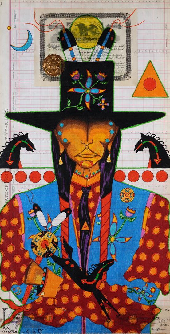 Ledger Art From the Edge: Terrance Guardipee Remixes a Classic Genre - ICTMN.com