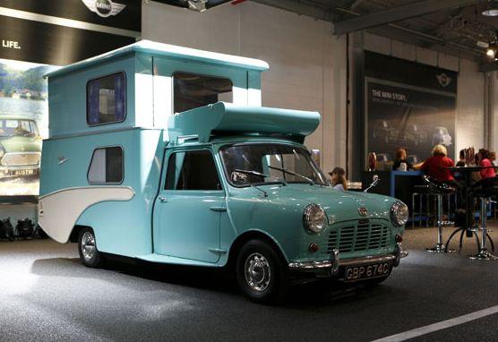1960's mini camper