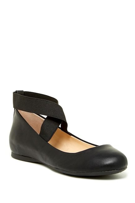 Image of Jessica Simpson Mandayss Ankle Strap Ballet Flat - Wide Width 9a90bc90ef5