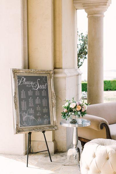 seating chart | Mint Photography