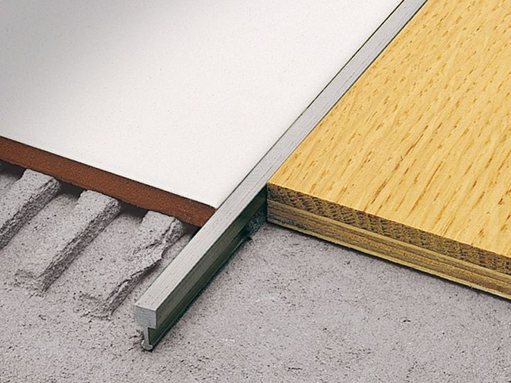 Separation profile for matching floors LINETEC AD Linetec Line by PROFILITEC