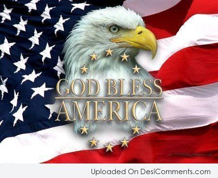 Picture: Happy Birthday America – God Bless America