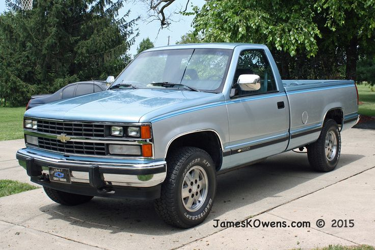 1989 chevy k1500 silverado truck 4x4 automatic 350ci v8 5 7l paint and work by dale s