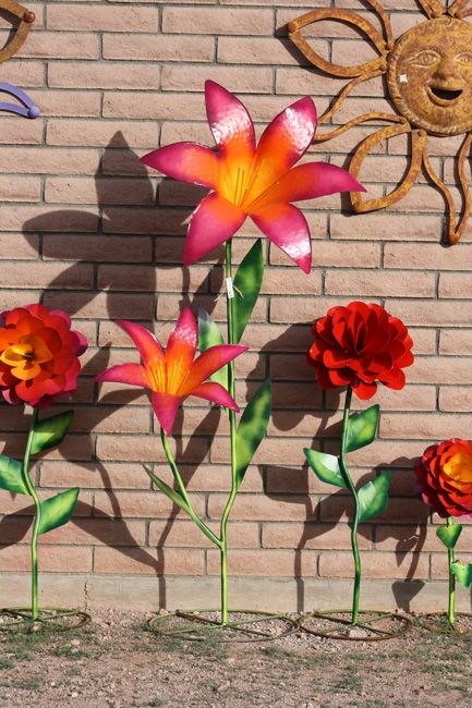 Making Metal Yard Flowers   Check back frequently for more new items to be featured here!