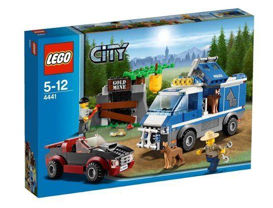 Jeu de construction LEGO City 4441 - Le Fourgon du Chien de Police