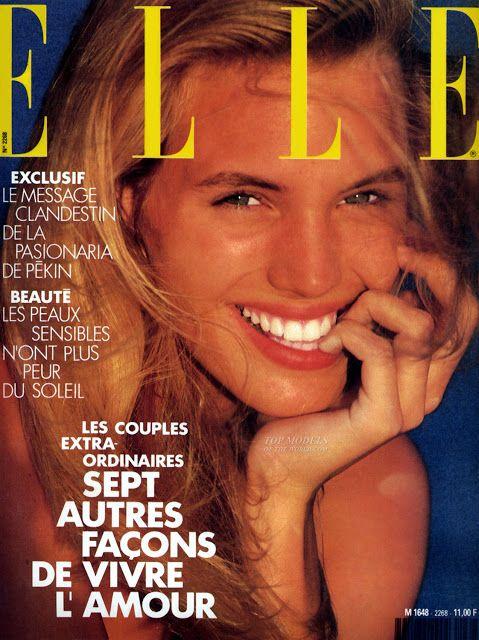 Joanna Rhodes  -  Elle June 1989