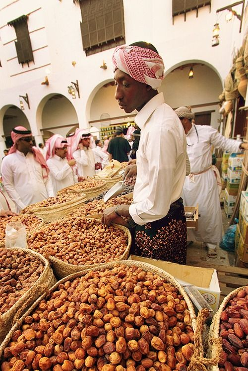 Dates Vendor  Saudi Arabia- This guy could cook for me anyday