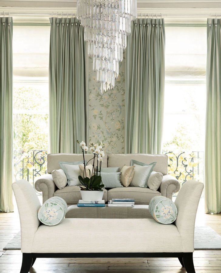 Designer Wallpaper | Summer Palace Eau De Nil Wallpaper